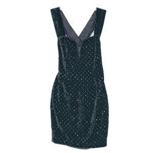 Jessica McClintock Gunne Sax Vintage Velvet Dress